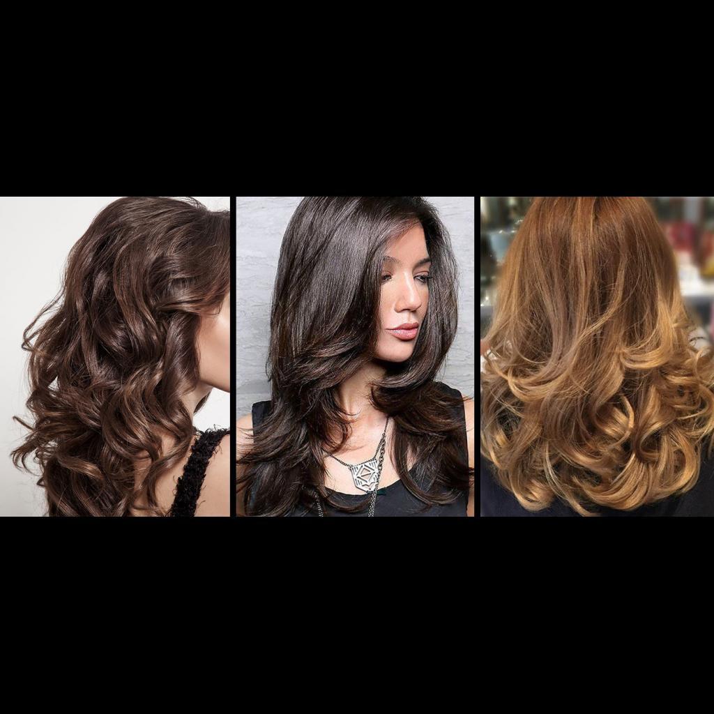 美容ワークショップで紹介されるブロースタイリング Blow out hair styling